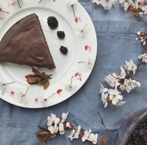 Chocolate Rum Truffle Torte