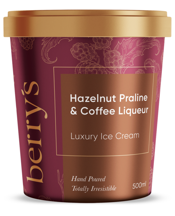 Hazelnut Praline & Coffee Liqueur Ice Cream