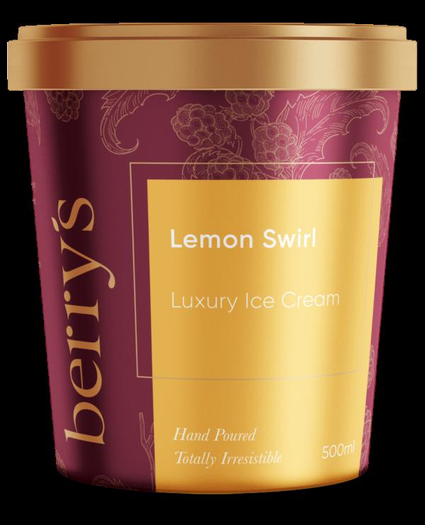 Lemon Swirl Ice Cream