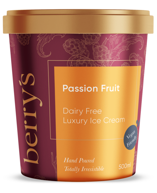 Passion Fruit Dairy Free Ice Cream